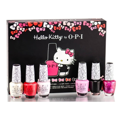 OPI Hello Kitty 6-piece Collector's Edition Nail Polish Set