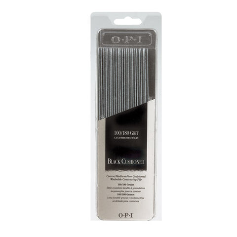 Opi files black cushioned package of 12 FI 247 np2