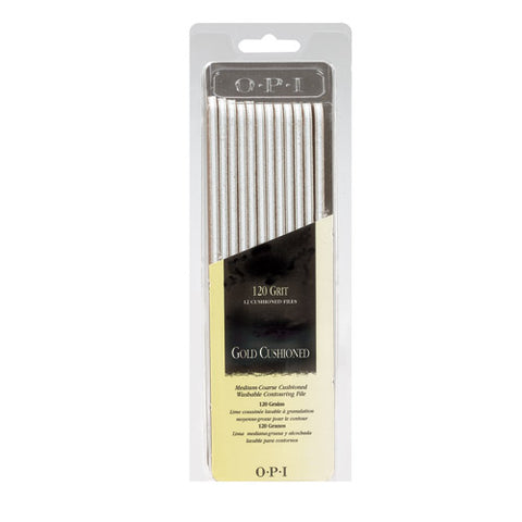 Opi files gold cushioned 120 grit package of 12 FI 277 np2