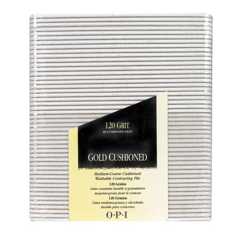 Opi files gold cushioned 120 grit package of 48 FI 271 np2