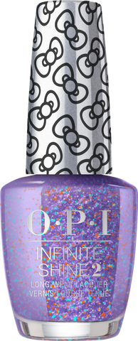 OPI INFINITE SHINE HOLIDAY HELLO KITTY PILE ON THE SPRINKLES HRL37