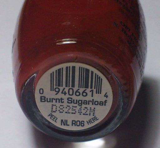 OPI Discontinue Color Nail Polish Burnt Sugarloaf NL R06 nl1