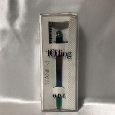 OPI tooling  IM220 PusherPlus Titanium Cuticle Pusher