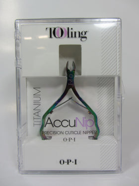 OPI  tooling IM226 Titanium Accunip Precision Cuticle Nipper