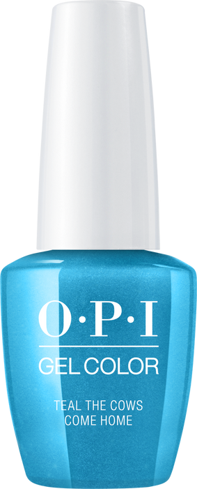 OPI GELCOLOR - #GCB54 TEAL THE COWS COME HOME .5 OZ  p1