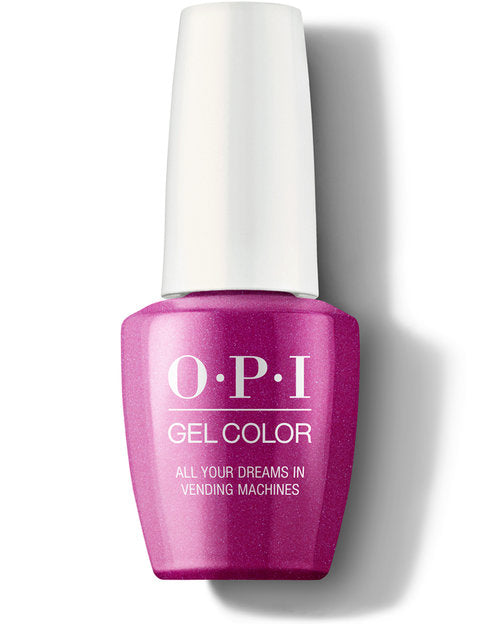 OPI gelcolor gel polish ALL YOUR DREAMS IN VENDING MACHINES