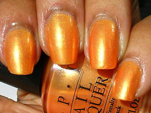 OPI Discontinue Color Nail Polish TOTALLY-TANGERINE NL B41 nl1