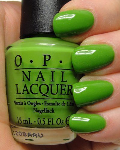 OPI Discontinue Color Nail Polish Green-wich Village NL B69 nl1