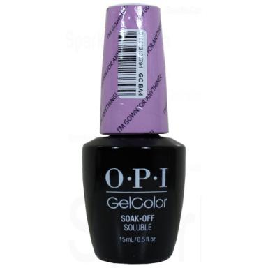 OPI Gel Polish GCBA4 I'm Gown for Anything!