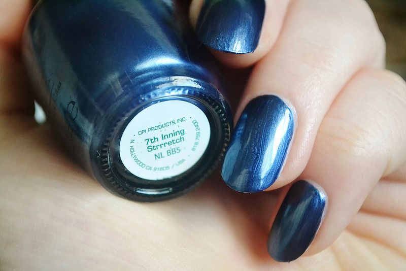 OPI Discontinue Color Nail Polish 7th Inning Strrretch NL BB5 nl1