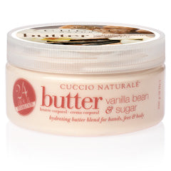CUCCIO Naturale - Vanilla Bean & Sugar Butter 226g 8oz
