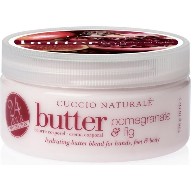 CUCCIO Naturale - 24hr Hydrating Butter Blend with Pomegranate and Fig 226g 8oz