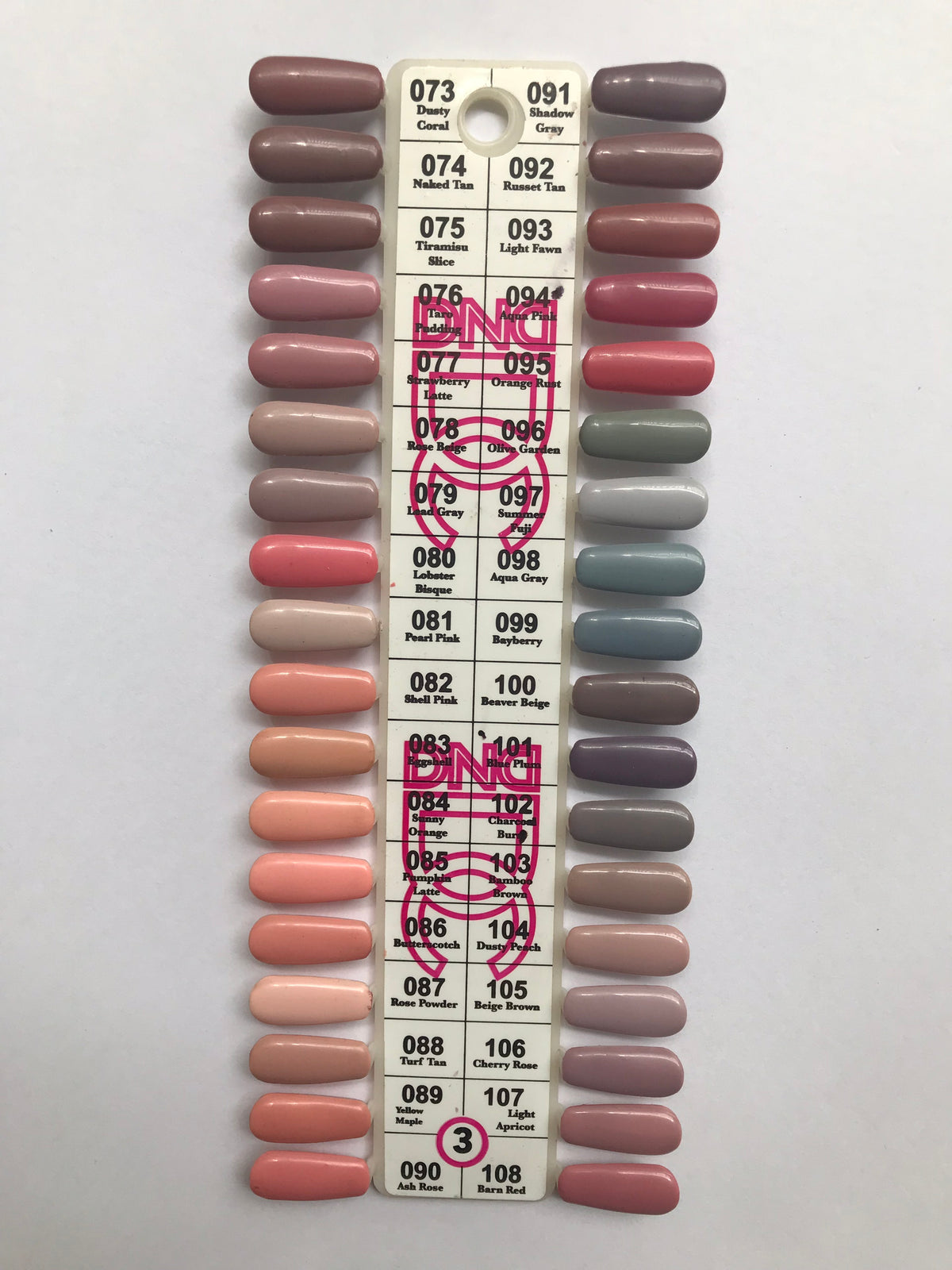 Dnd Gel Polish Sample Chart Dc Collection Chart 3 Hebiss