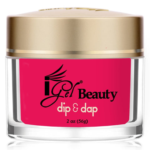 IGEL DIP & DAP POWDER  DD64 SHOCKING PINK 2OZ  p1