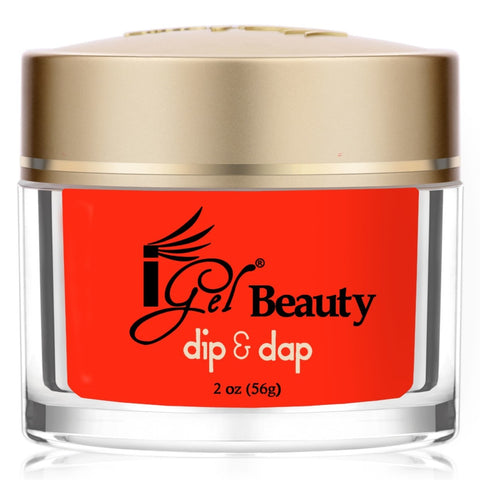 IGEL DIP & DAP POWDER  DD65 FIRED UP RED 2OZ  p1