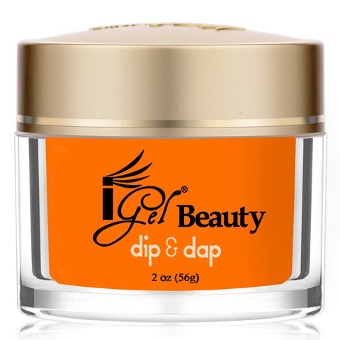 IGEL DIP & DAP POWDER  DD66 BLAZZING ORANGE 2OZ  p1