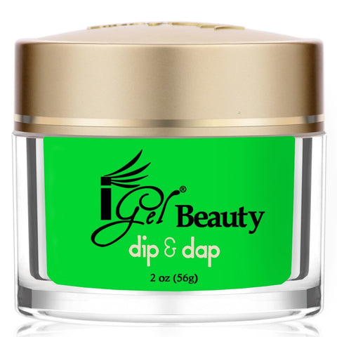 IGEL DIP & DAP POWDER  DD68 SCREAMIN' GREEN 2OZ  p1