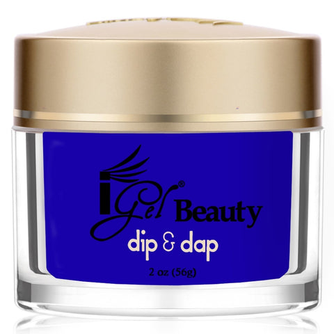IGEL DIP & DAP POWDER  DD69 ELECTRIC BLUE 2OZ  p1