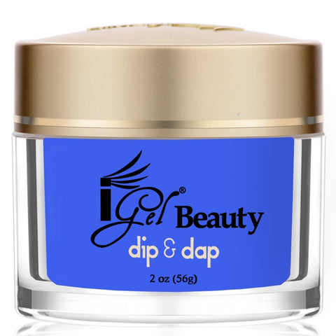 IGEL DIP & DAP POWDER  DD70 BAJA BLUE 2OZ  p1