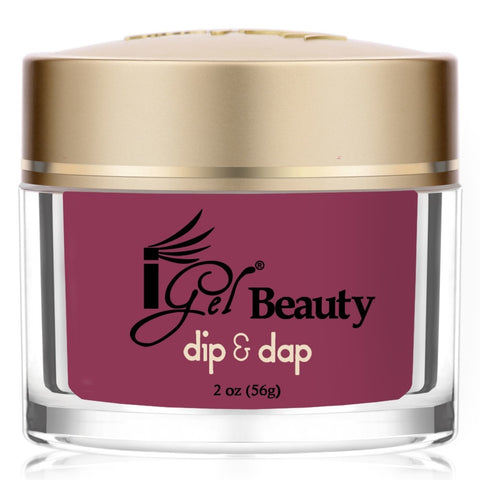 IGEL DIP & DAP POWDER  DD83 VERY BERRY SHIMMER 2OZ  p1