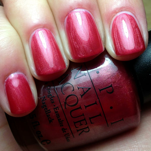 OPI Discontinued Color Nail Polish It's My Prague-ative ! NL E05 nl1