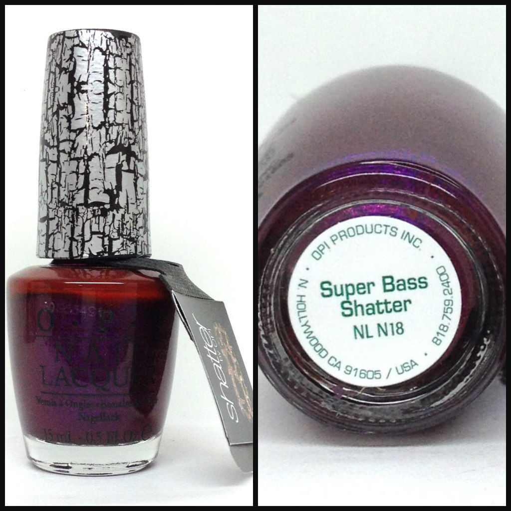 Opi Nail Lacquer Nicki Minaj Collection Supper Bass Shatter Nl N18
