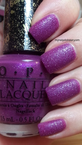 OPI  Discontinue Color Nail Polish My Current Crush SR EB3 Liquid Sand