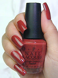 OPI  Discontinue Color Nail Polish Crepes Suzi ette F23