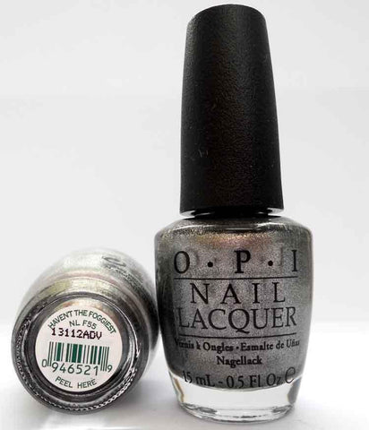 OPI Discontinue Color Nail Polish Haven't the Foggiest NL F55 nl1