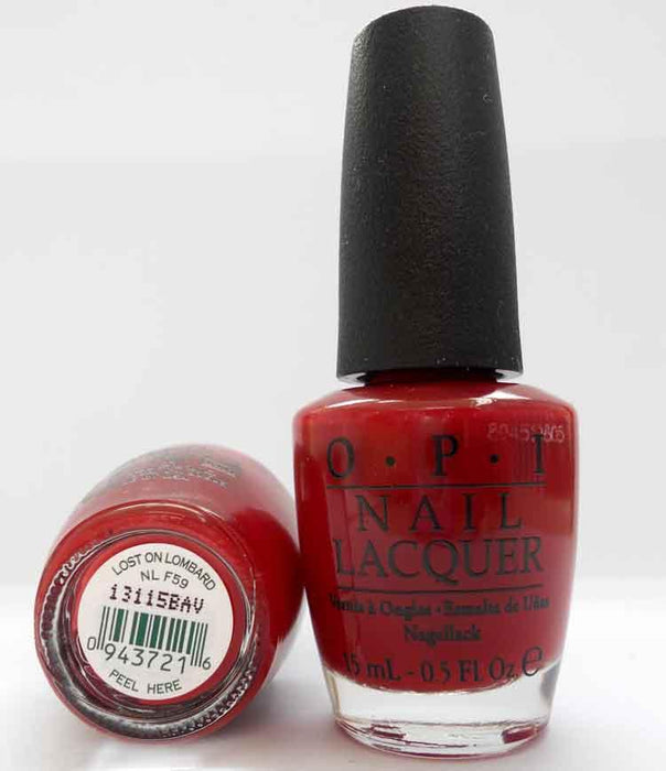 OPI Discontinue Color Nail Polish Lost on Lombard NL F59 nl1
