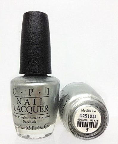 OPI Discontinue Color Nail Polish  My Silk Tie NL F74 nl1