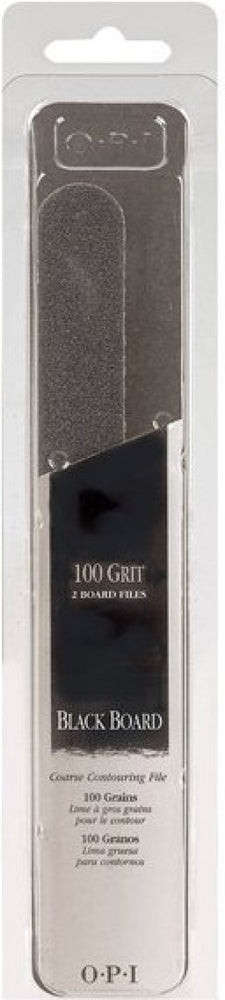 OPI Black Board 100 Grit Set 2 Board Files NL2