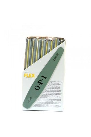 Opi professional files flex green 220/280 package of 16 FI 646 np2