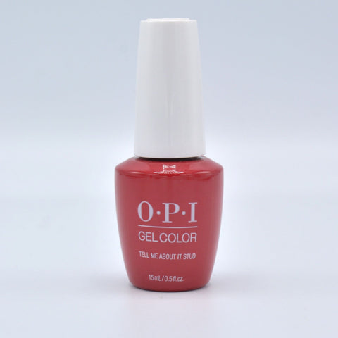 Opi gelcolor soak off gel polish Tell Me About It Stud G51 0.5 oz 15 ml np5