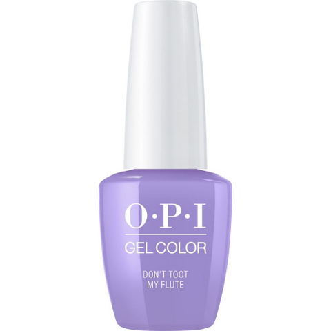 Opi gelcolor soak off gel polish DON'T TOOT MY FLUTE P34 0.5 oz 15 ml np5