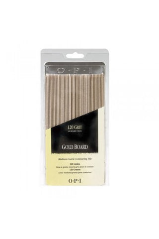 Opi gold board files 120 grit package of 48 FI 273 np2