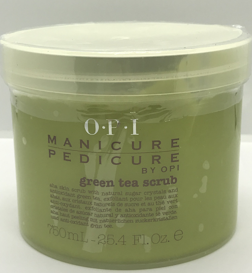 OPI - Manicure Pedicure Green Tea Scrub - Saving Size 25.4oz