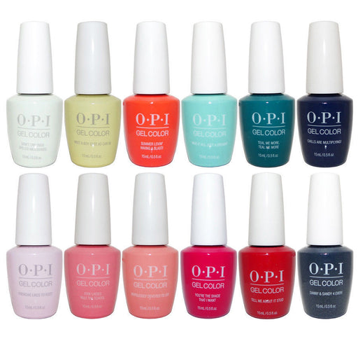 OPI Gel Color GREASE Collection 2018 Pack of 12