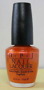 OPI  Discontinue Color Nail Polish Naples Syrup  I29