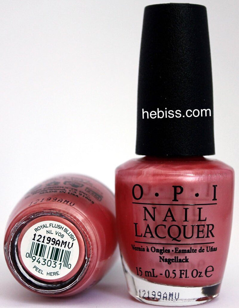 OPI Nail Polish V08 Royal Flush Blush