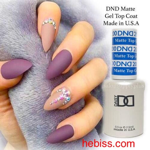DND Gel Matte Top Coat