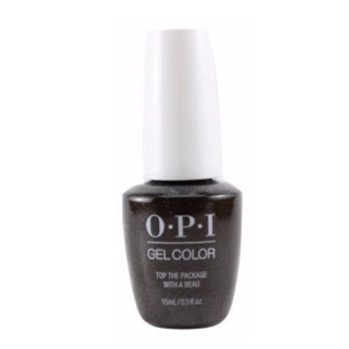 OPI GelColor 2017 Holiday Collection Top The Package With A Beau HP J11