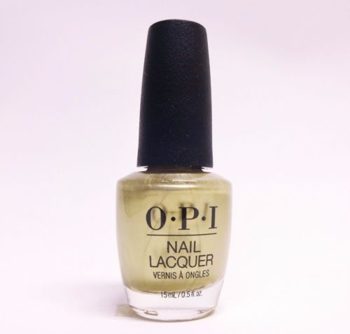 OPI - XOXO Holiday Gift of Gold Never Gets Old (Old Gold Frost-Pearl) J12