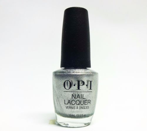 OPI - XOXO Holiday Ornament to be Together (Silver foil with subtle holo shimmer) J02