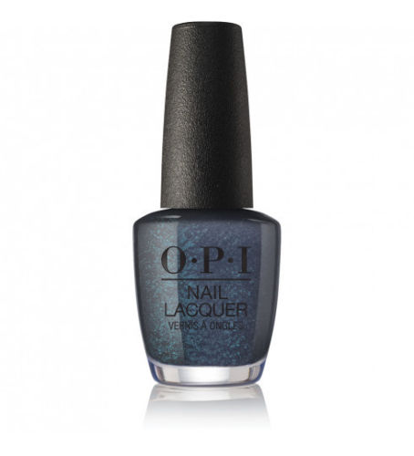 OPI - XOXO Holiday Coalmates (Dark Grey-Blue Shimmer)J03