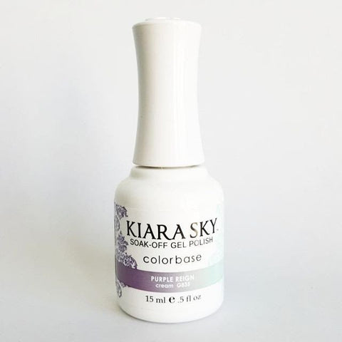 Kiara Sky Ombre Color Changing Gel Polish Purple ReignG835