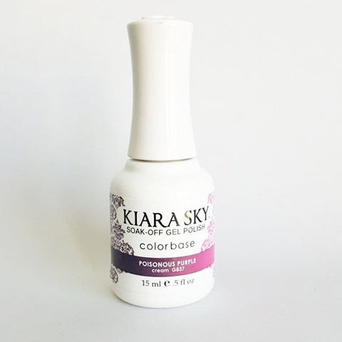 Kiara Sky Ombre Color Changing Gel Polish  Poisonous Purple G837