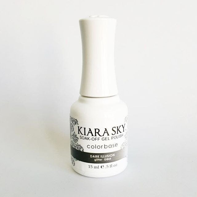 Kiara Sky Ombre Color Changing Gel Polish  Dark Illusion G844