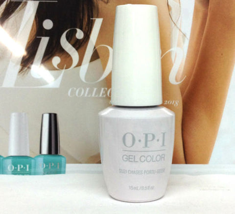 OPI GELCOLOR LISBON COLLECTION SPRING 2018 Suzi Chases Portu-Geese GCL26