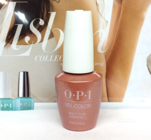 OPI GELCOLOR LISBON COLLECTION SPRING 2018 Made It To The Seventh Hill! GCL15